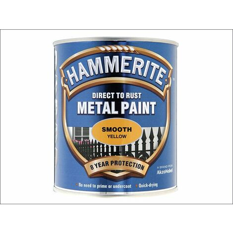 Hammerite Metal Paint Smooth Silver