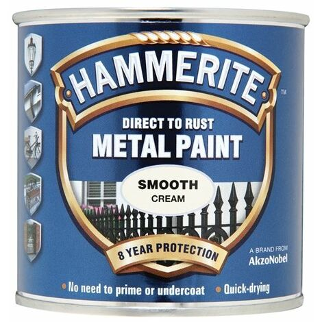 Hammerite Metal Paint Smooth White