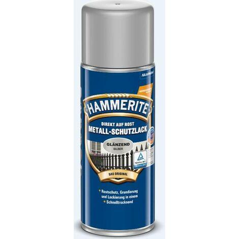 HAMMERITE Metallschutz-Lack Glänzend Silber 400ml - 5087586