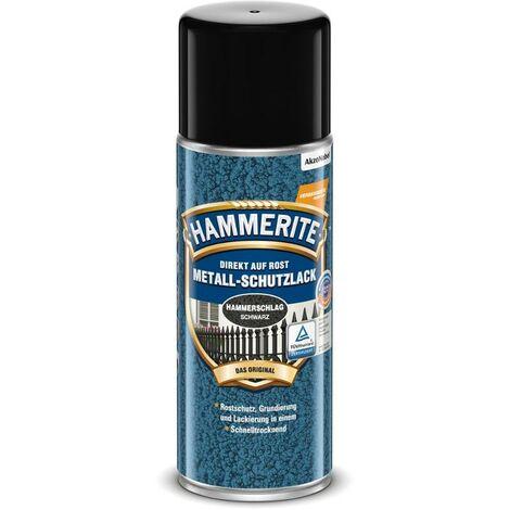 HAMMERITE Metallschutz-Lack Hammerschlag Schwarz 400ml - 5087621