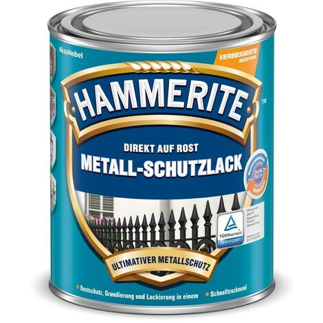 HAMMERITE Metallschutz-Lack Matt Schwarz 2,5l - 5134939