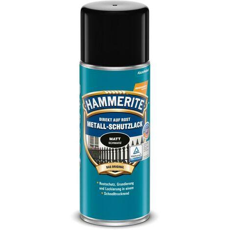 HAMMERITE Metallschutz-Lack Matt Schwarz 400ml - 5087645