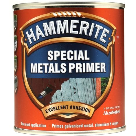Hammerite - Red Special Metal Primer - One Coat - Quick Drying - All Sizes