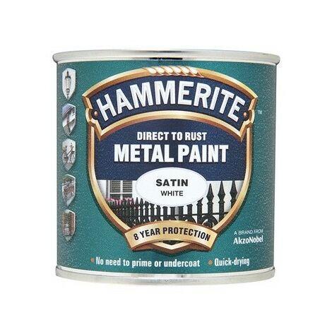 "main image of ""Hammerite Metal Paint Satin (select size)"""