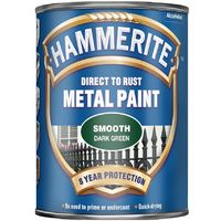 Hammerite Smooth Finish Metal Paint 2.5L (select colour)