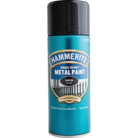 Hammerite Smooth Finish Metal Paint 400ml Aerosol (select colour)