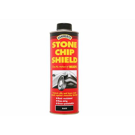 Hammerite Stonechip Shield - 600ml White Aerosol