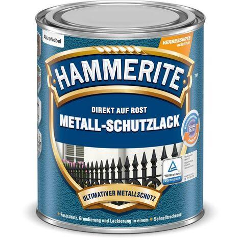 HAMMERITE Struktur-Effekt Schwarz 250ml - 5087667