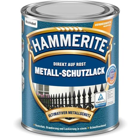 HAMMERITE Struktur-Effekt Schwarz 750ml - 5087668