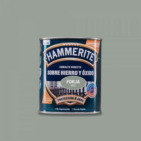 Hammerite vernis metallique forge gris 0.750l