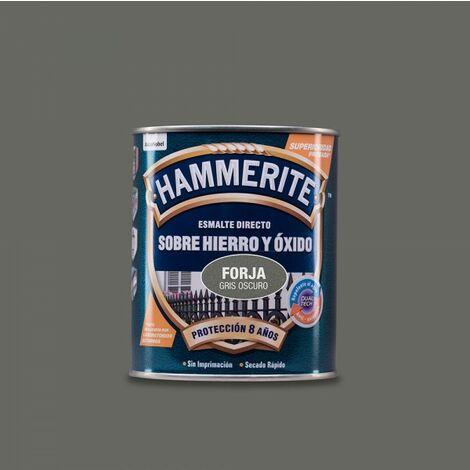 Hammerite vernis metallique forge gris foncé 0.750l