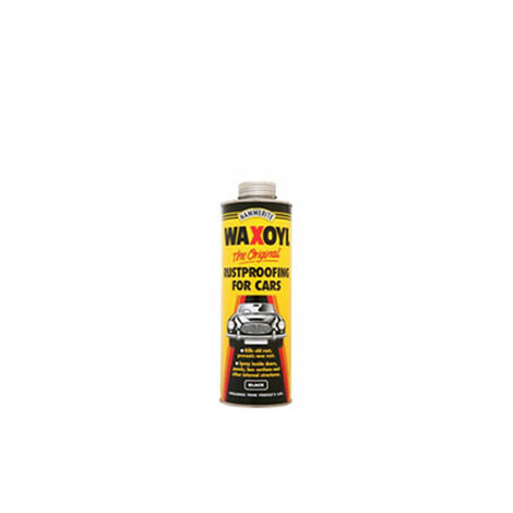 Hammerite Waxoyl Rustproofing - Black Pressure Can 2.5 Litre
