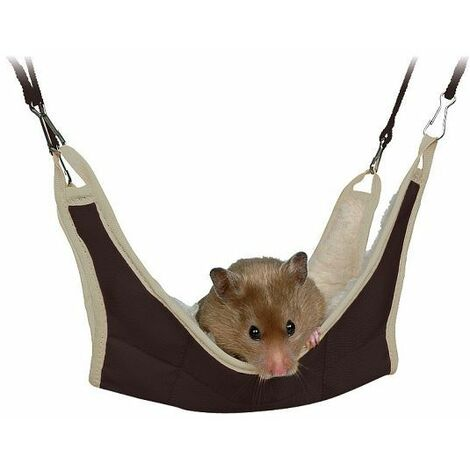 Hammock 30 x 30 cm rodent, rat and degus. Random color.