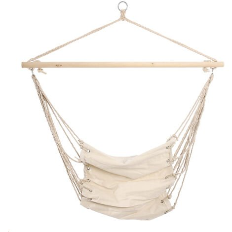 Hammock Chair Hanging Rope Chair Swing Chair Seat White