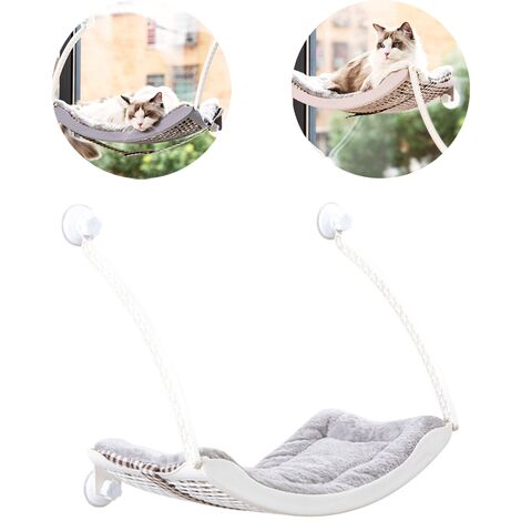 Hammock for hanging cat litter for cat suction cup balcony window swing hung