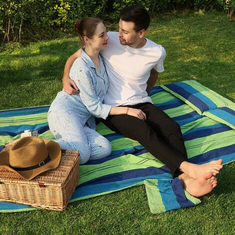 Hammock Portable 70% Cotton 2 Person 210 x 150cm max. load 300kg