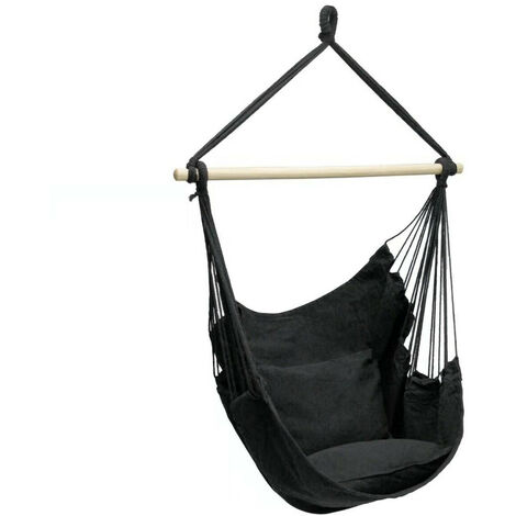Hammock Swing Chair Portable Hanging Rope Seat Outdoor Furniture Travel Camping