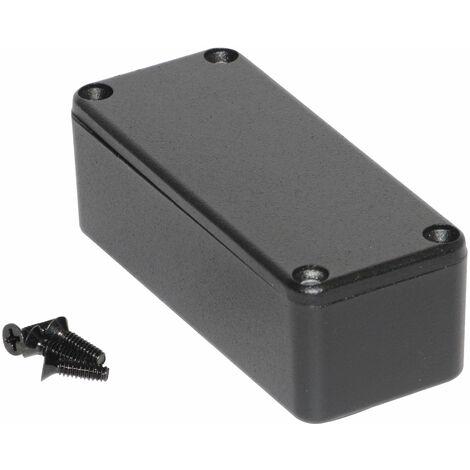 Hammond 1590ABK Diecast Enclosure Black (92.5 x 38.5 x 31mm)