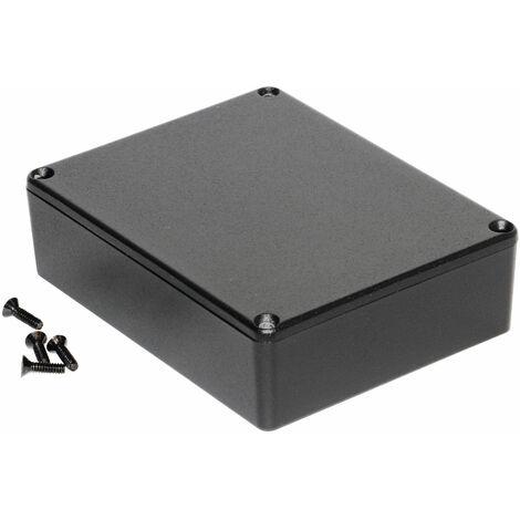 Hammond 1590BBBK Diecast Enclosure Black (118.5 x 93.5 x 34mm)