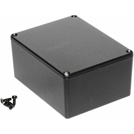 Hammond 1590CBK Diecast Enclosure Black (120 x 94 x 56.5mm)