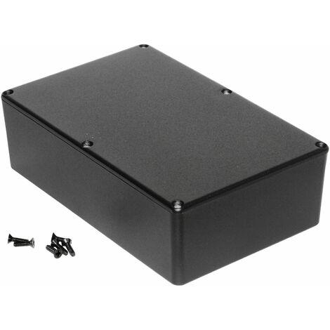 Hammond 1590DBK Diecast Enclosure Black (187.5 x 119.5 x 56mm)