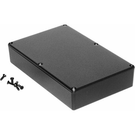 Hammond 1590DDBK Diecast Enclosure Black (187.5 x 119.5 x 37mm)