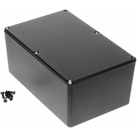 Hammond 1590EBK Diecast Enclosure Black (187.5 x 119.5 x 82mm)