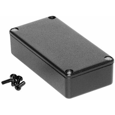 Hammond 1590GBK Diecast Enclosure Black (100 x 50 x 25mm)