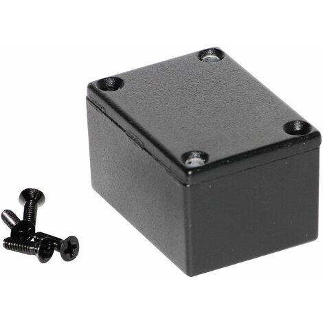 Hammond 1590HBK Diecast Enclosure Black (52.5 x 38 x 31mm)