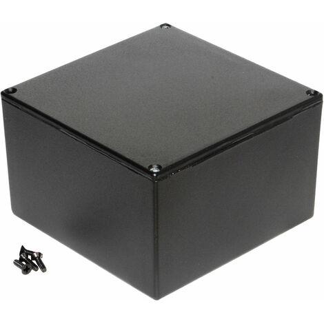 Hammond 1590KBK Diecast Enclosure Black (125 x 125 x 75mm)