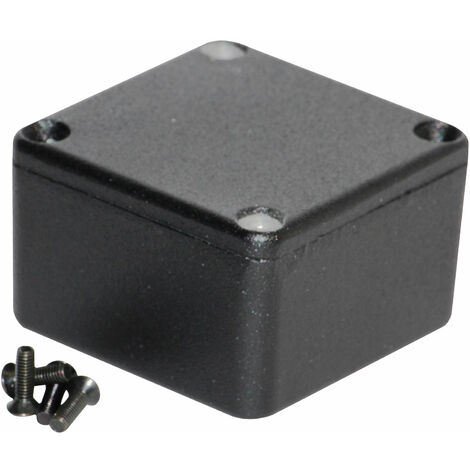 Hammond 1590LBBK Diecast Enclosure Black (50.5 x 50.5 x 31mm)