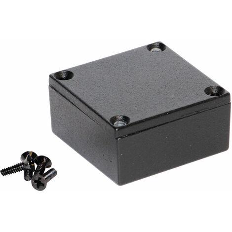 Hammond 1590LLBBK Diecast Enclosure Black (50 x 50 x 25mm)