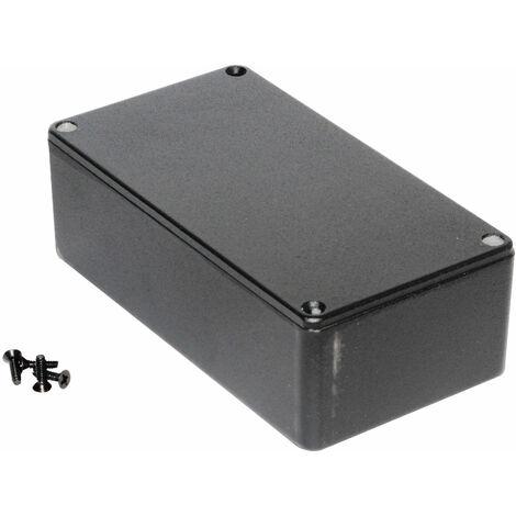 Hammond 1590P1BK Diecast Enclosure Black (153 x 82 x 50mm)