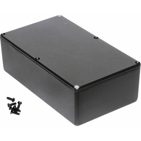 Hammond 1590R1BK Diecast Enclosure Black (192 x 111 x 61mm)