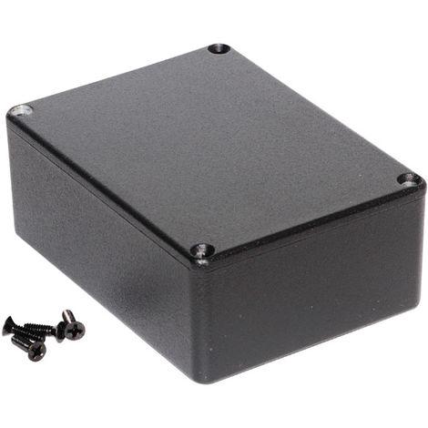 Hammond 1590SBK Diecast Enclosure Black (110.5 x 81.5 x 44mm)