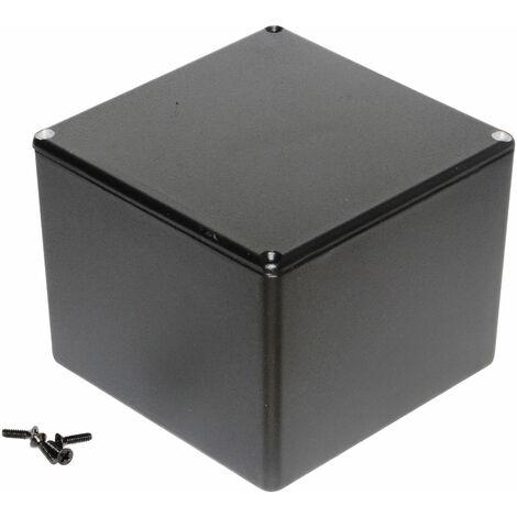 Hammond 1590VBK Diecast Enclosure Black (119.5 x 119.5 x 94mm)