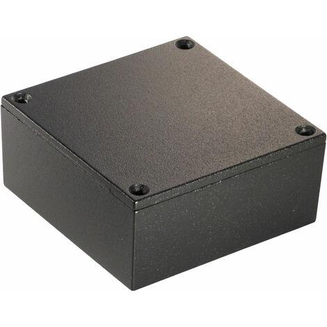 Hammond 1590YBK Diecast Enclosure Black (92 x 92 x 42mm)