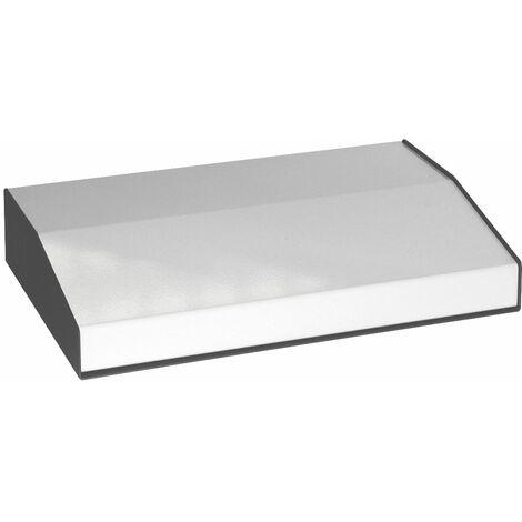 Hammond 500-0950 Sloped Enclosure 204x299x58/34mm Steel/Aluminium 2-Tone Grey