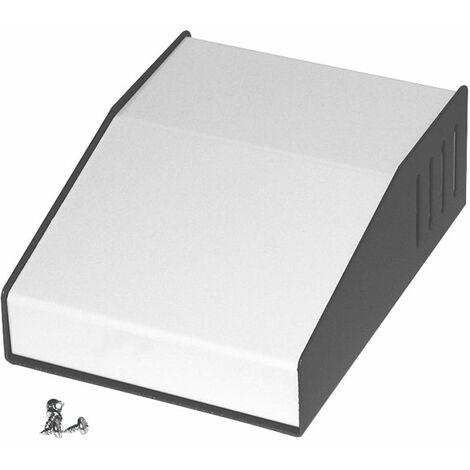 Hammond 515-0910 Sloped Enclosure 157x116x58/34mm 2-Tone Grey