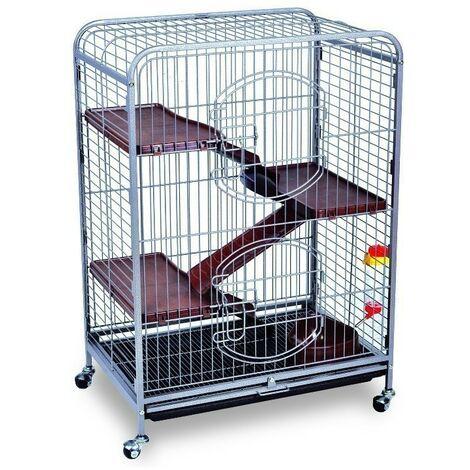 Hamster cage design