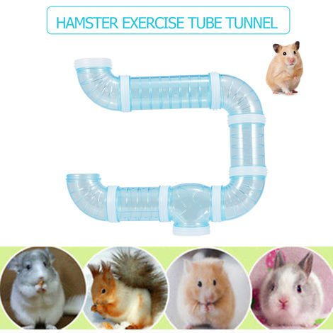 Hamster Tube Tunnel Toy DIY Assorted Playground Module Toy Exercise