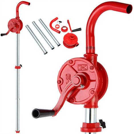 Hand crank barrel pump for diesel -heating oil -engine oil -canola oil - 30l/min