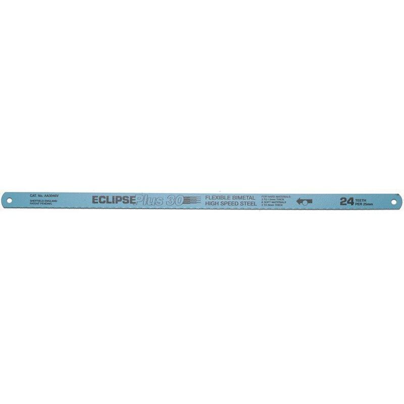 Image of 10'X1/2'X18TPI Plus 30 Bi-metal Hacksaw Blade - Eclipse Blue