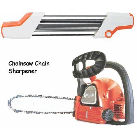 "main image of ""Hand mini mini grinder head file Chainsaw Sharpener 2 in 1 Easy File Sharpener, orange"""