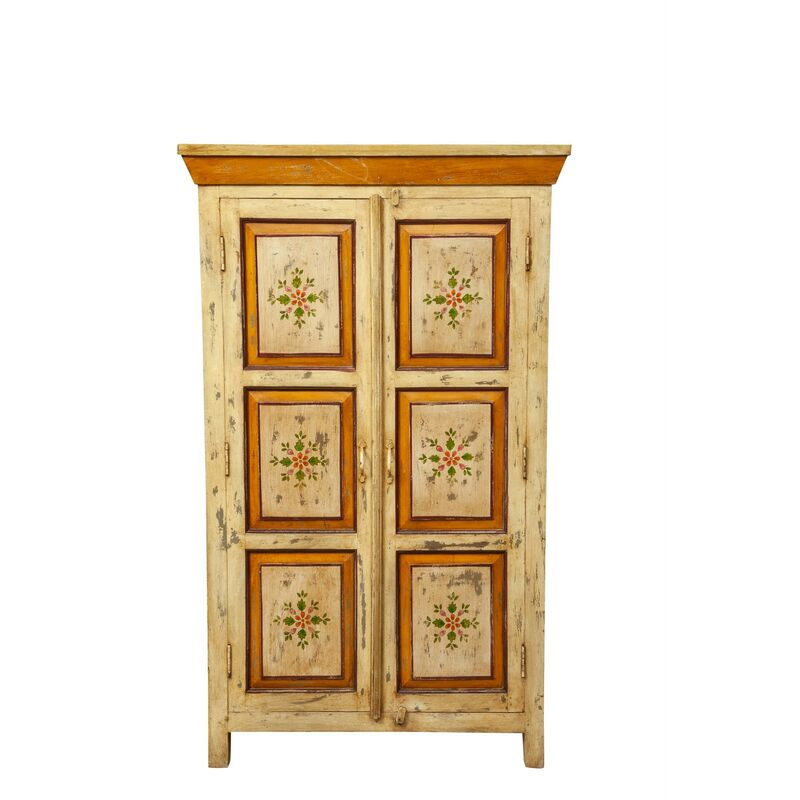 Image of Biscottini - Hand Painted solid wood cabinet