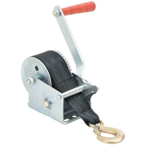 Hand Winch with Strap 360 kg