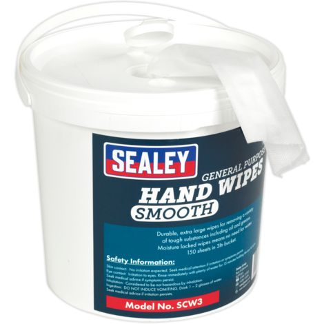 Hand Wipes Bucket 3ltr Pack of 150