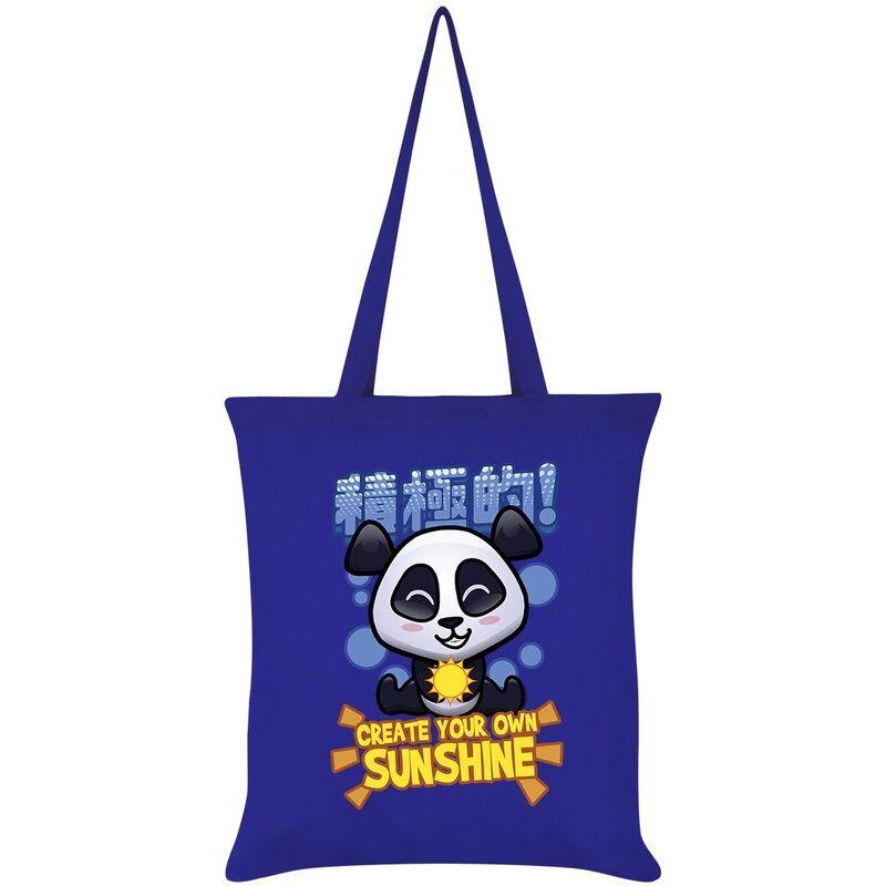 Image of Create Your Own Sunshine Tote Bag (One Size) (Royal Blue) - Handa Panda
