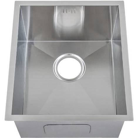 Handemade 1.0 Bowl Satin Stainless Steel Undermount Kitchen Sink 44 x 38cm DS005