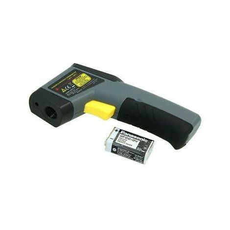 Handheld Infrared Thermometer. Tests DPF & CAT Blockage